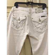 Pantalon Miss Me Mezclilla Talla 30 Original