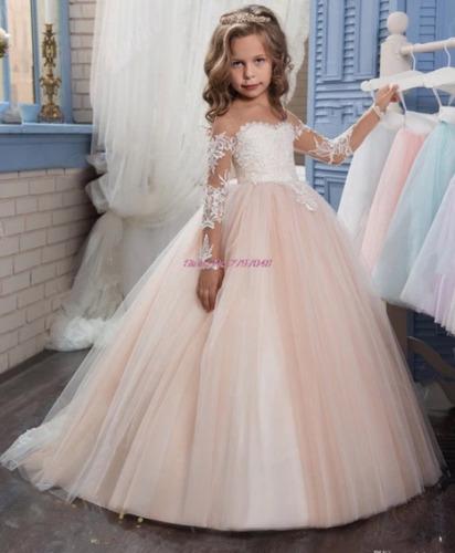 df2b2c1de Vestidos Elegantes Y Hermosos Para Niña en venta en Cancún Benito ...