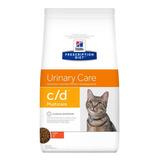 Alimento Hill's Prescription Diet Urinary Care C/d Para Gato Adulto Sabor Pollo En Bolsa De 3.9kg
