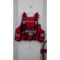 Chaleco Táctico 3-1 Portaplaca/panel Paramedico, Rescate,
