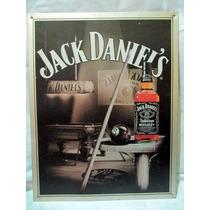 Poster Anuncio De Lamina Jack Daniels Billares