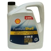Aceite Para Motor A Gasolina Shell 10w30 4.7 Litros.