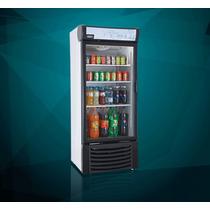 Refrigerador Vertical Exhibidor De 1 Puerta 16 Pies Cubicos