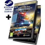 Random Steam Key + American Truck Simulator Gold + Expansiones + Mapas De México + Actualizado - Pc