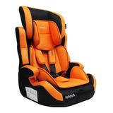 Booster Con Respaldo Infanti Sport Shell Naranja