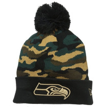 Gorro Nfl Seattle Seahawks Halcones New Era Camo Envio Grati