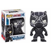 Black Panther Funko Pop Pantera Negra Civil War Iron Man 130