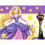 Kit Imprimible Enredados Rapunzel Diseñá Tarjetas Cumple #2