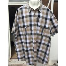 Camisa J. Ferrar Tallas Extras 3xl Cuello 19-19.5 Cuadros