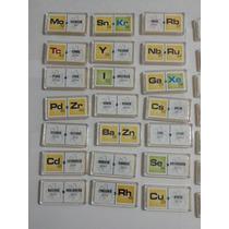 Domino Elementos Quimicos 1 Y 2 Material Didactico