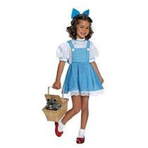 Mago De Oz Niño Deluxe Dorothy Disfraz Pequeño