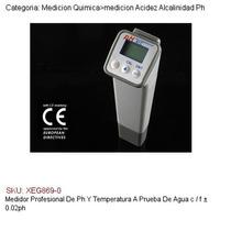 Medidor Profesional De Ph Y Temperatura A Prueba De Agua °c