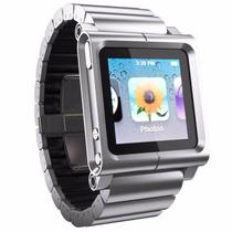 Extensible Funda Aluminio Lunatik Link, Reloj Ipod Nano 6th