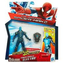 Oferta Spider-man 2 Electro Energizado Luz Hasbro