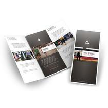 Tripticos Publicitarios, Dipticos, Carta, Diseño Gratis