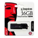 Memoria Usb Kingston 16gb Datatraveler Dt104 Usb Barata