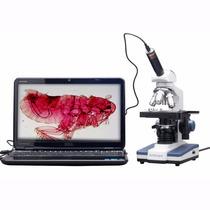 Microscopio Amscope M620c-e1 Digital Compound Monocular