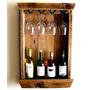Bar Rustico 4 Botellas