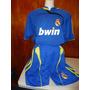 Uniforme Genérico Futbol Del Real Madrid Azul Unitalla