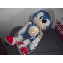 Excelente Peluche Mochila Grande De Sonic The Hedgehog
