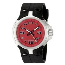 Reloj Oakley Bottle Cap Red 100% Original Nuevo Importado