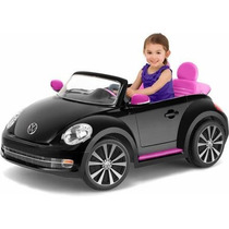 Carrito Carro Electrico Montable Beetle Para 2 Ninos