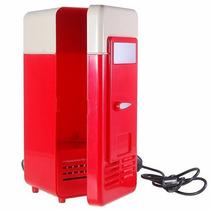 Mini Refrigerador Usb Pc O Laptop Calienta O Enfría Bebidas