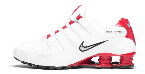 envío complementario vendible liquidación de venta caliente Tenis Nike Shox Nz Blanco Rojo Caballero 2019 en venta en ...