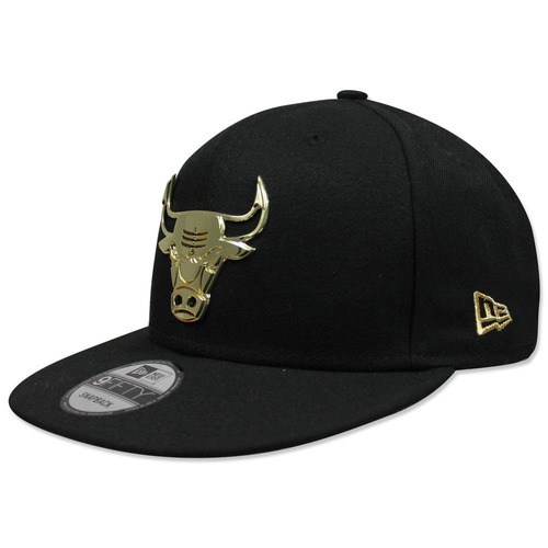 Gorra New Era 950 Nba Bulls Metal Framed Negro 26438b59543