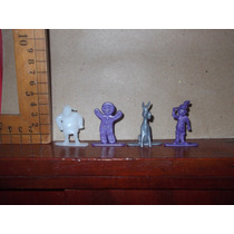 Shrek Lote De Cuatro Mini Figuras