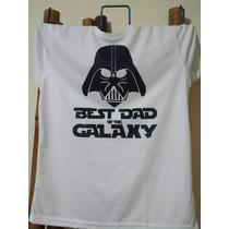 Playera Guerra De Las Galaxias Darth Vader Mejor Papa Regalo