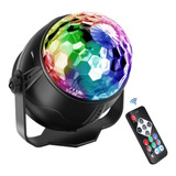 Esfera Led Luz Disco Crystal Ball Rgb Automatica Con Control