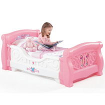 Cama Camita Infantil Niñas Step2 Rosa Pm0