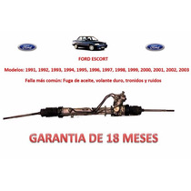 Caja Direccion Hidraulica Cremallera /bomba Ford Escort 1995
