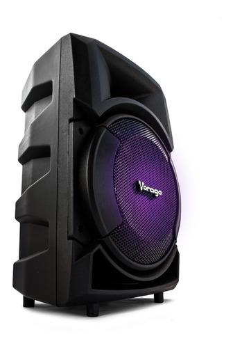 Bafle 8 Pulgadas Amplificado Bluetooth Vorago Ksp-300