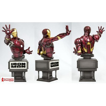 Iron Man Movie Fine Art Bust - The Kotobukiya Collection