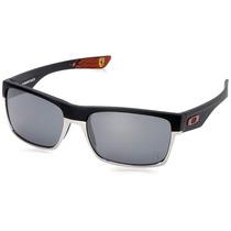 Oakley Ferrari Two Face Matte Black - Black Iridium