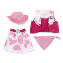 Disfraz De Vaquera Para Niños Con Accesorios Jessy Vaquera