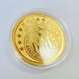 Moneda Club Chivas Guadalajara Baño Oro 14k Regalo Ideal
