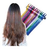 Twinkle Glitter Extensiones De Brillos Hair Tinsel 25 Hilos