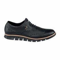 Zapatos Oxford Negro Bostoneanos Hpc Polo
