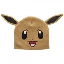 Gorro Beanie Tejido Eevee Pokemon Anime Series Otaku Ash