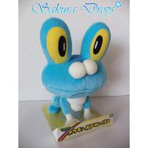Peluche De Froakie - Pokemon - 20 Cm Aprox - Takara Tomy