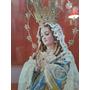 Antiguo Cuadro Con Las Imagen De La Virgen De La Purísima C.