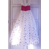 Vestido De 15 Años Color Perla Talla Xch En Venta En