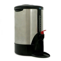 Cafetera Euroline 40 Tazas Acero Inoxidable Comercial O Indu