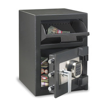 Cash Depository Safe Negro 95 Lb. Acero Solido Sentry Safe