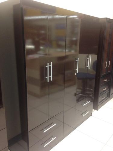 Ropero nuevo y moderno muebles uni n 8480 bzxdy for Ropero usado precio