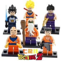 Tb Superhero Minifigures -goku Dragon Ball Z Set Of 6