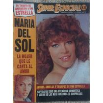 Revista Super Espécial Con Maria Del Sol, Español C/poster
